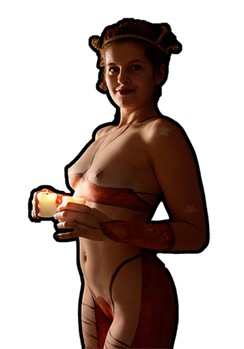 "Bodypainting-Shooting ""Weihnachtsengel"""